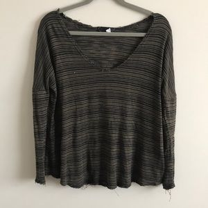 Urban Outfitters Long Sleeved Stripped Shirt